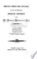 Hernan Perez del Pulgar, el de las hazañas