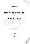 Higiene y Medicina Popular