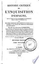 Histoire critique de l'Inquisicion d'Espagne, 3