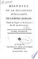 Histoire de la décadence et de la chute de lempire romain