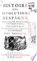 Histoire des revolutions d'Espagne