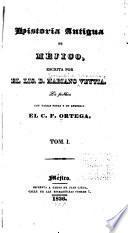 Historia antigua de Mejica