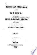 Historia antiqua de Méjico