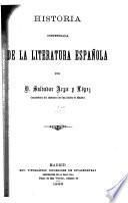 Historia compendiada de la literatura Española