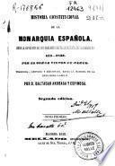 Historia constitucional de la monarquía española