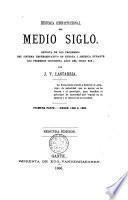 Historia constitucional del medio siglo