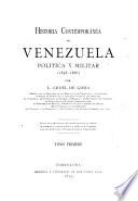 Historia contemporánea de Venezuela