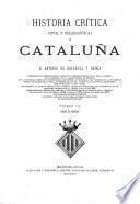 Historia critica (civil y eclesiastica) de Cataluña