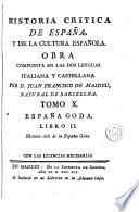 Historia critica de España, y de la cultura española, 10