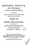 Historia critica de España, y de la cultura española, 20