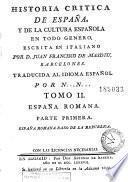 Historia critica de España y de la cultura española, 4