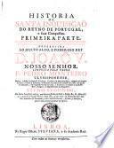 Historia Da Santa Inquisiçaõ Do Reyno De Portugal, e suas Conquistas
