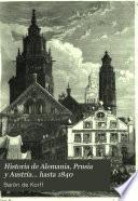 Historia de Alemania, Prusia y Austria... hasta 1840