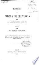 Historia de Cádiz y su provincia