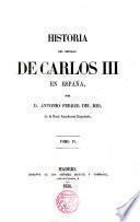 Historia de Carlos III en España