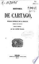 Historia de Cartago ...[y otras obras]