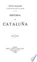 Historia de Cataluna