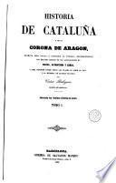 Historia de Cataluña y de la corona de Aragon, 1