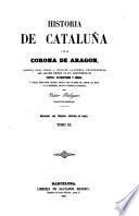 Historia de Cataluña y de la corona de Aragon