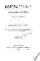Historia de Chile, bajo el gobierno del Jeneral D. Joaquín Prieto