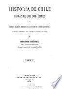 Historia de Chile durante los gobiernos de García Ramón, Merlo de la Fuente y Jaraquemada
