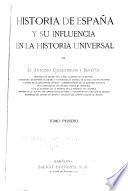Historia de España y su influencia en la historia universal