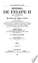 Historia de Felipe II, rey de España