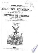 Historia de Francia: t. 2