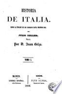 Historia de Italia, 1