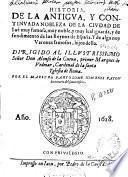 Historia de la antigua, y continuada nobleza de la ciudad de Iae ?... y de algunos varones famosos, hijos della ...