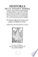 Historia de la antiqva Hibera ...