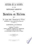 Historia de la Baronía de los señores Obispos de Barcelona en Mallorca