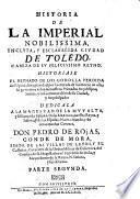 Historia de la ... ciudad de Toledo