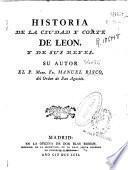Historia de la ciudad y corte de León y de sus reyes