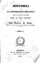 Historia de la civilizacion española, 1