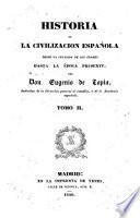 Historia de la civilizacion española, 2