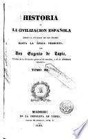 Historia de la civilización española , 3-4