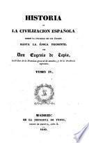 Historia de la civilizacion española, 4