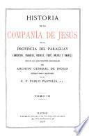 Historia de la Compañía de Jesús en la provincia del Paraguay