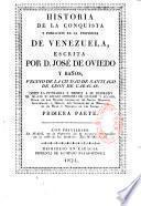 Historia de la conquista y población de la provincia de Venezula