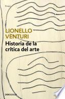 Historia de la crítica del arte