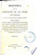 Historia de la dominación de los arabes en España, 3