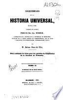 Historia de la Edad Media (1853 - XL, 439 p.)