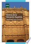 Historia de la educación española
