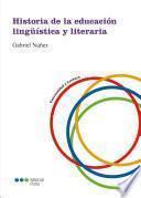 Historia de la educación lingüística y literaria