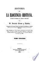 Historia de la elocuencia cristiana