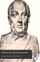 Historia de la filosofía española