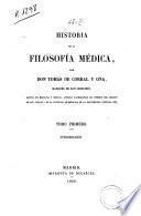 Historia de la filosofía médica
