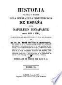 Historia De La Guerra De La Independencia de Espana