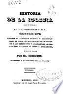 Historia de la Iglesia: (1842. 338 p.)